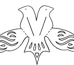 bird templates cut kids coloring europe travel guides