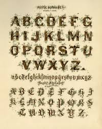 hand lettering the old print gallery blog