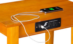 End Table With Charging Station by Ac Usb Charging Occasional Tables Archives Atlantic Furniture
