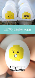 easter eggs decorated pictures easy easter kids craft diy lego easter eggs