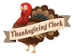 thanksgiving countdown clock when is thanksgiving 2018