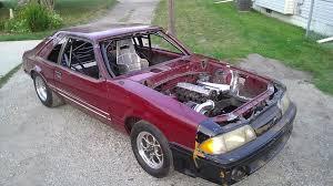 fox mustang drag car build unique x275 fox build features boosted 2 3l audi motor dragzine