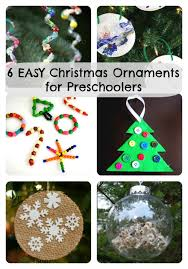6 easy ornaments for preschoolers to make easy