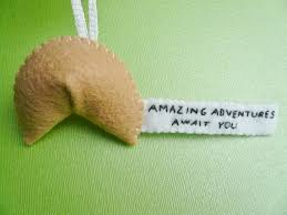 fortune cookie ornament inspiring fortune cookie ornament amazing adventures await you