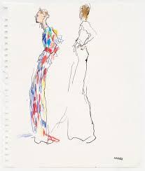 richard haines fashion illustration gallery