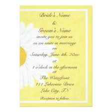 wedding invitations johnson city tn yellow wedding invitations announcements zazzle