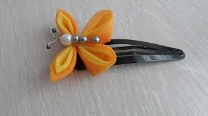 butterfly hair clip how to make a butterfly hair clip diy crafts tutorial