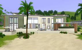 sims 2 modern beach house house interior