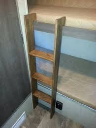 Rv Bunk Bed Ladder Diy Rv Bunk Ladders Cing Bed Pinterest Diy Rv Rv And Cing