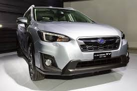 gray subaru crosstrek the 2018 subaru xv is here auto jamaica gleaner