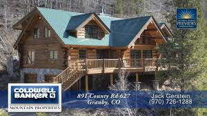 891 county rd 627 granby colorado luxury log home for sale