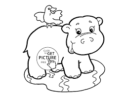 fantastic free coloring pages animals baby with zoo animal page of