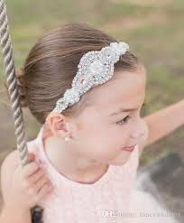 flower girl headbands 2016 crystals flower girl baby hair accessories cheap wedding