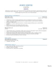 exles of chronological resumes 300 resume slesexles featuring different formats sles of
