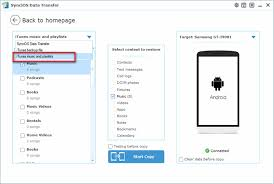 transfer itunes to android how to transfer from itunes to samsung galaxy