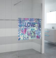 10mm fabric glass walk in shower cubicles aluminum frame open type