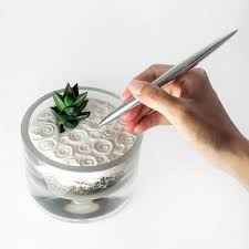 best 25 desktop zen garden ideas on pinterest garden terrarium