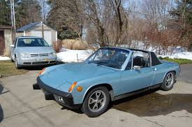 old porsche 914 the latest addition 1974 porsche 914 1 8 ran when parked