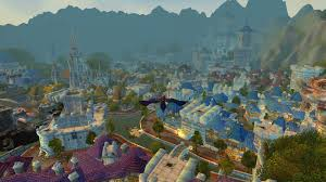 Stormwind Map World Of Warcraft Shadow Covenant