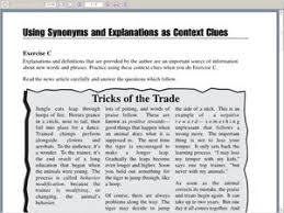 context clues worksheets 8th grade free worksheets library