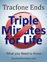 tracfone black friday amazon tracfonereviewer tracfone ends triple minutes for life what you