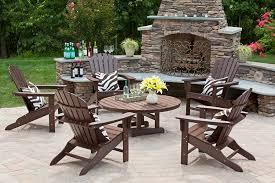 Interesting Composite Outdoor Furniture U2014 100 Polywood Modern Folding Adirondack Chair Furniture