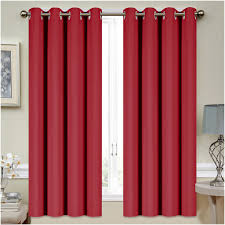 Walmart Red Grommet Curtains by Orange Curtain Panels Big Lots Curtains 64 Inch Curtains Cheap