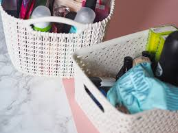 What To Put In Wedding Bathroom Basket Bathroom Baskets Bathroom Basketsbathroom Baskets Crate And