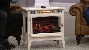 duraflame infrared quartz stove heater with 3d flame effect