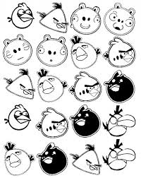 40 free printable angry birds coloring pages free