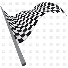 Checkered Racing Flags Black And White Checkered Racing Flag Royalty Free Vector Clip Art