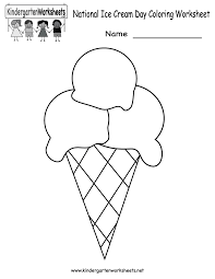 free thanksgiving activities for kindergarten national ice cream day worksheet free kindergarten holiday