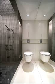 modern minimalist bathroom interior design white floating bath
