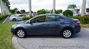 how much is a toyota corolla 2014 used toyota corolla 4dr sedan cvt le at royal palm toyota