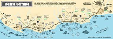 san jose cabo map hotels maps los cabos properties