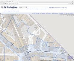 Washington Dc Zoning Map by One Takoma July 2013