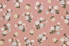 1940s vintage wallpaper small flowers on mauve rosie u0027s vintage
