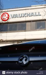 vauxhall griffin griffin house vauxhall motors ltd in luton stock photo royalty