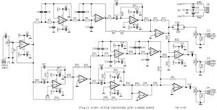 3 way active crossover wiring diagram schematic diagram guide