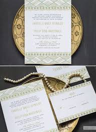 gatsby wedding invitations great gatsby inspired wedding invitations the elli