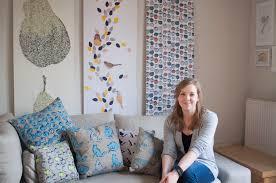 ba hons textiles graduate winner of the homebase wallpaper