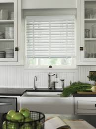 2 Inch White Faux Wood Blinds Kitchen Good Looking White Kitchen Blinds 2 Inch Faux Wood