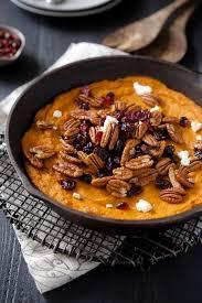 thanksgiving potato casserole super easy vanilla pecan sweet potato casserole