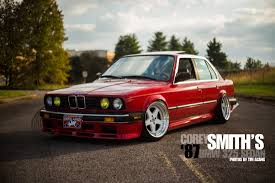 bmw e30 stanced corey smith 325 slammedenuff