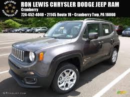 jeep renegade grey interior 2016 granite crystal metallic jeep renegade latitude 4x4