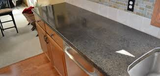 Kitchen Countertops Michigan by Designcrete Countertop Overlay System Michigan