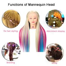 hairstyles to do on manikin 24 hairdressing training head for hairstyles hair braiding