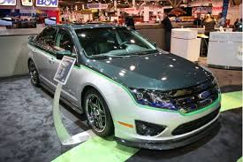 green can be cool customized 2010 ford fusion hybrid car