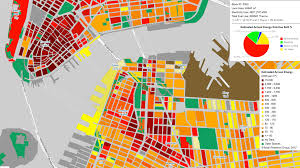 New York Borough Map by New York City Energy Mapping Project The 5 Borough Studio