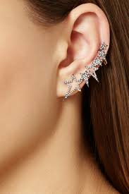 gold ear cuffs ko gold diamond ear cuff kos diamond and